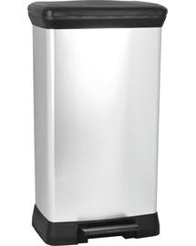 CURVER Odpadkový koš DECO BIN 30 l černý/stříbrný