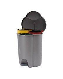 CURVER TRIO koš odpadkový pedálový TRIO 40 l