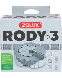 ZOLUX Komponenty Rody 3-toaleta bílá