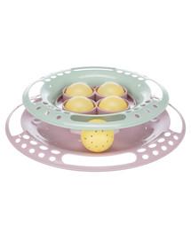 TRIXIE Junior hračka kruh s míčky pro koťata 24 cm