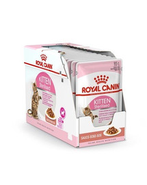 ROYAL CANIN Kitten Sterilised v omáčce 12 x 85g kapsička pro kastrované koťata