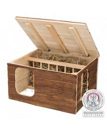 TRIXIE Natural Living dřevěný domek s podavačem