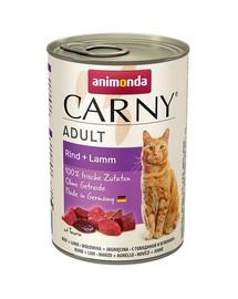 ANIMONDA Carny Adult hovězí & jehněčí 400 g
