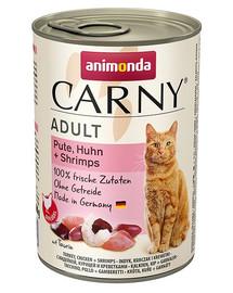 ANIMONDA Carny Cat Adult hovězí,krůta & krevety 400 g