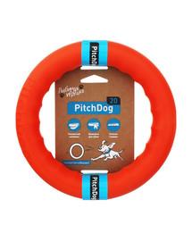 PULLER Pitch Dog Kruh pro psy 20 cm oranžový