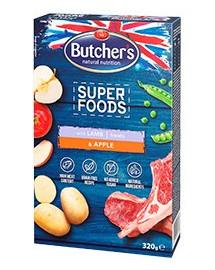 BUTCHER'S Superfoods GF Jehně & Jablko 320g
