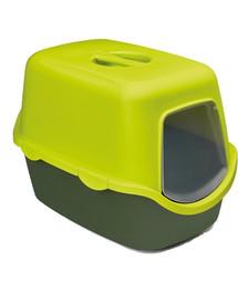 ZOLUX WC Cathy zelené kryté bez filtru 56x40x40cm