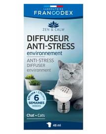 FRANCODEX Anti-stress difuzér kočka 48ml