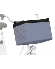 TRIXIE Front-Box transportní košík na řidítka, 38 x 25 x 25 cm, šedá