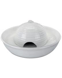 TRIXIE Keramická fontána VITAL FLOW MINI, keramická 0,8 l bílá
