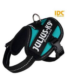 TRIXIE Postroj pro psy Julius-K9 IDC Mini/M: 49–67 cm/22 mm Petrol