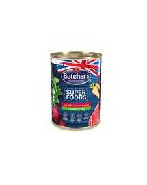 BUTCHER'S Superfoods Dog Tripe Hovězí a zelenina 400g