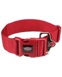 TRIXIE Obojek PREMIUM 40-60 cm/50 mm (M-L) - červená