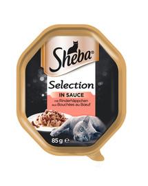 SHEBA Selection hovězí 85g*22