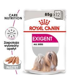 ROYAL CANIN Exigent Dog Loaf 12 x 85g kapsička s paštikou pro mlsné malé psy