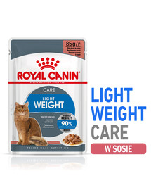 ROYAL CANIN ULTRA LIGHT 85 g v omáčce x 12