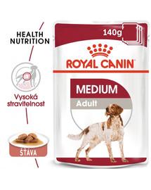 ROYAL CANIN Medium adult 10x140 g kapsičky pro dospělé střední psy
