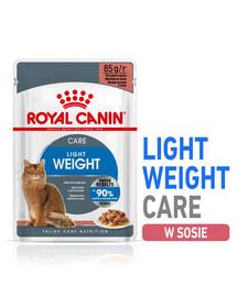 ROYAL CANIN ULTRA LIGHT 85 g v omáčce x 12