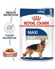 ROYAL CANIN Maxi adult 10x140 g kapsička pro dospělé velké psy