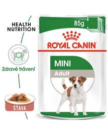 ROYAL CANIN Mini adult 85g x12 kapsička pro dospělé malé psy