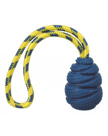 TRIXIE Sporting tvrdý Jumper na laně, přírodní guma 7 cm/25 cm