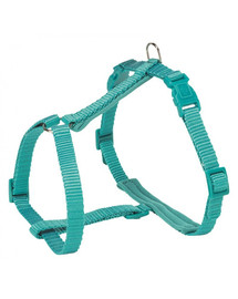 TRIXIE Prémiový postroj pro kočku s vodítkem, 25–45 cm / 10 mm, 1,20 m, modrý