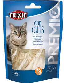 TRIXIE Premio Cod Cuts 50g pamlsek pro kočky s treskou