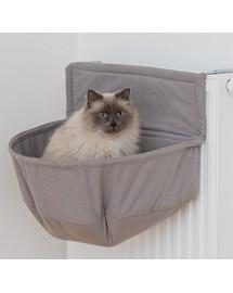 TRIXIE Pelíšek XXL na radiátor pro velké kočky hnědý