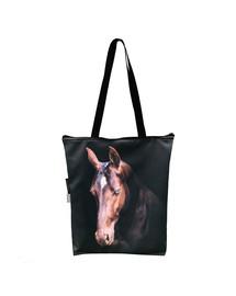 FERA Nákupní taška Hnědý Kůň
