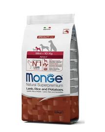 MONGE Dog Extra Mini Adult, jehně, rýže, brambory 2,5kg
