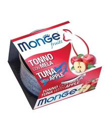 MONGE Fruit Cat Tuňák a jablko 80g