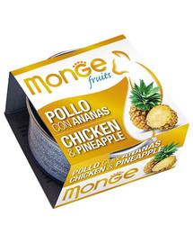 MONGE Fruit Cat Kuře a ananas 80 g