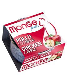 MONGE Fruit Cat Kuře a jablko 80 g