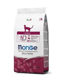 MONGE Cat Indoor 400g granule pro domácí kočky