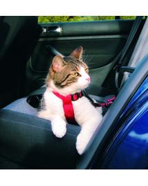 Trixie Bezpečnostní postroj do auta pro kočku 20-50cm