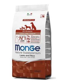 MONGE Dog Puppy Lamb & Rice 800 g