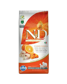 N&D  Pumpkin Adult medium & maxi codefish & orange 2,5 kg