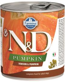 N&D Dog Pumpkin Adult Venison & Pumpkin 285g