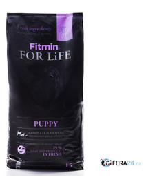 FITMIN Dog For Life puppy 2 x 15 kg