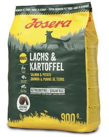 JOSERA Lachs & Kartoffel Adult 5 x 900g  (4+1 ZDARMA)