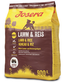 JOSERA Lamb & rice 5 x 900 g (4+1 ZDARMA)