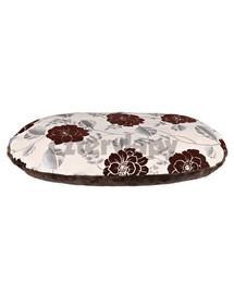 "TRIXIE Polštář pro psa ""Daphne"" 120x80 cm, béžovo/hnědý, květovaný vzor"