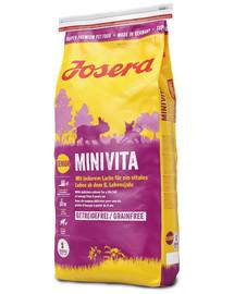 JOSERA MiniVita 5 x 900 g (4+1 ZDARMA)