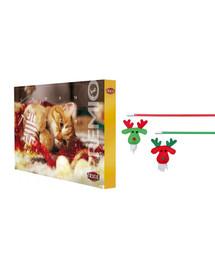 TRIXIE Vánoční sada adventní kalendář + kočičí rybářský prut