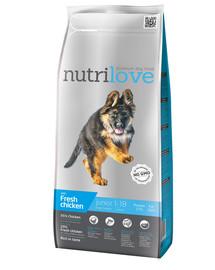 NUTRILOVE Dog Junior Large Fresh Chicken 3kg