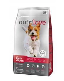 NUTRILOVE Dog Adult S Fresh Chicken 1,6kg