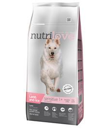 NUTRILOVE Dog Sensitive Lamb & Rice 12 kg