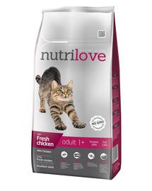 NUTRILOVE Cat Adult Fresh Chicken 8 kg