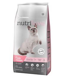 NUTRILOVE Premium Cat Sterile s čerstvým kuřecím 7kg