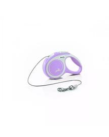 FLEXI Vodítko New Comfort S Cord 5 m růžové